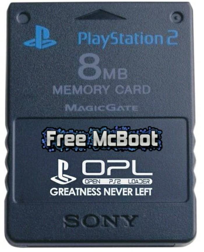 PREMIUM Memory Card Free McBoot FMCB Booting Memory Card PS2 MAM