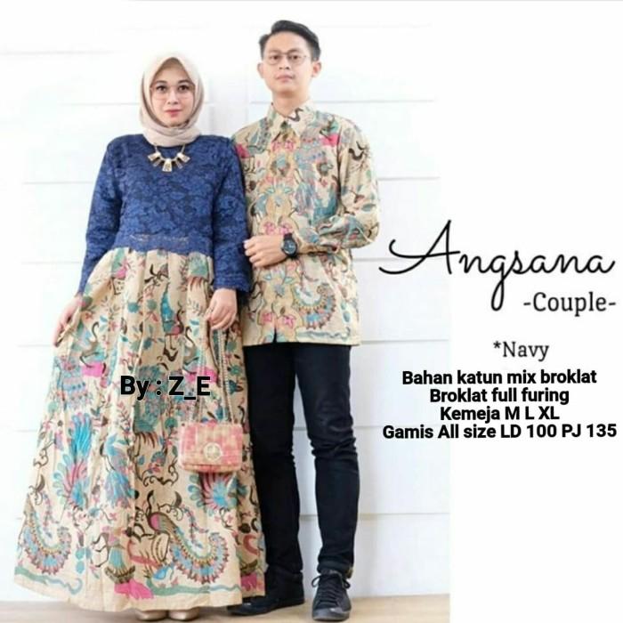 Jual sarimbit batik kombinasi angsana brokat batik couple murah ... faf817b05a