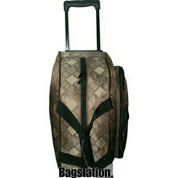 New Tas Koper Cabin Travel Bag Troli Polo Gear Roda Original Import -