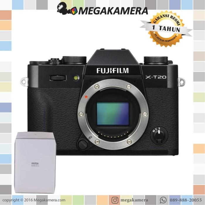 harga Fujifilm x-t20 fujifilm xt20 fuji xt20 bo black Tokopedia.com
