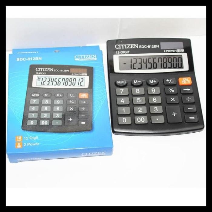 Jual HOT SALE Citizen SDC-812BN Kalkulator penghitung 12 digit 2 ... 3038df54ca