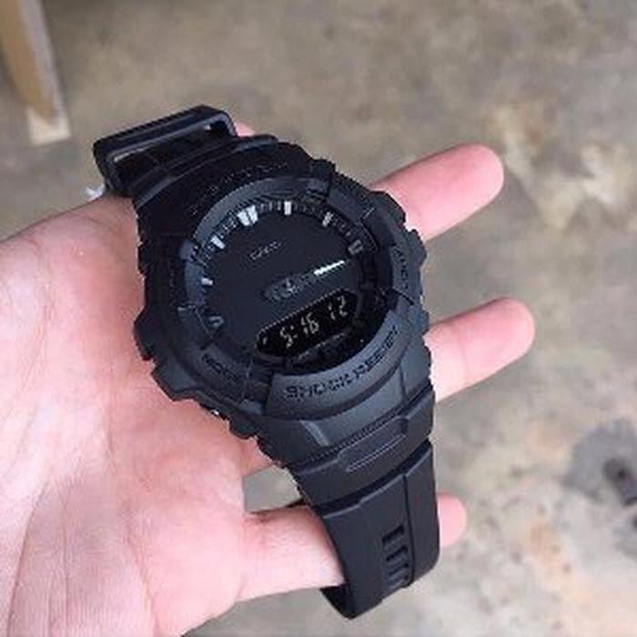 Jam Tangan Casio G-Shock Original Pria G-100BB-1A