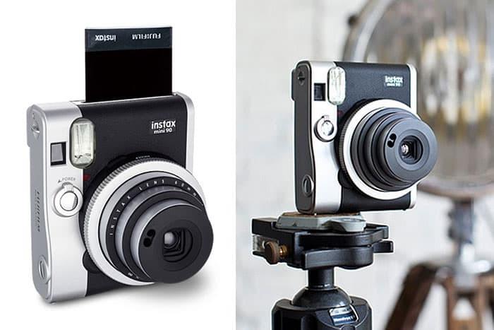 Jual Kamera Fujifilm Instax Polaroid Mini 90 Neo Classic Black