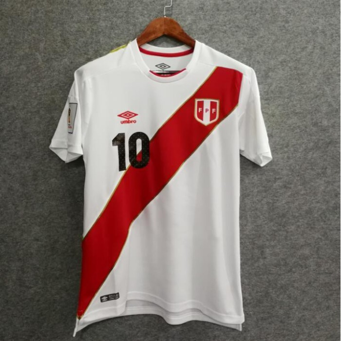 854bc421cb5 Jual cncontact UMBRO World cup 2018 Peru Jersey white men shirt can ...