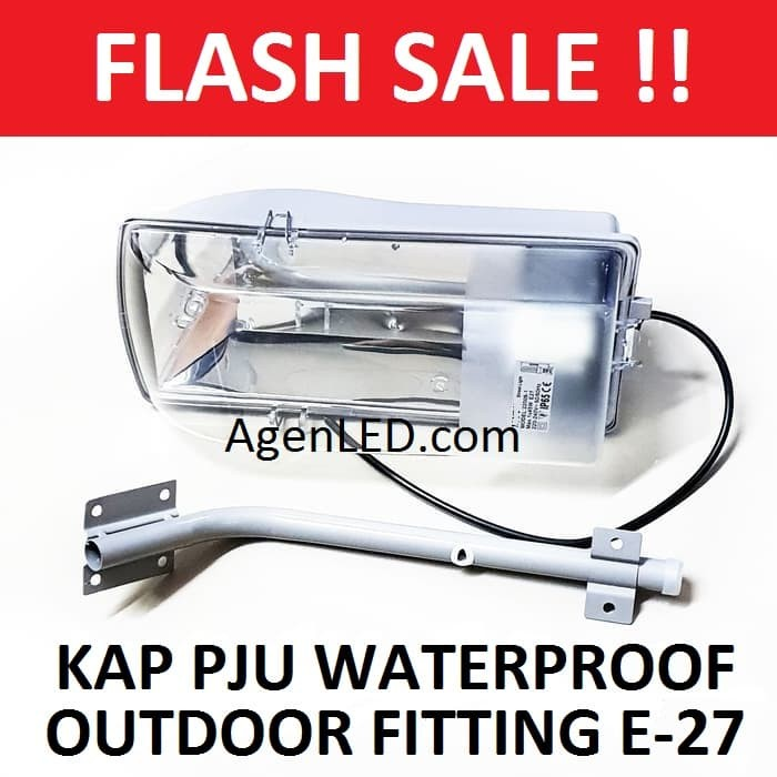 Jual Murah Kap Lampu Jalan PJU Waterproof LED Outdoor