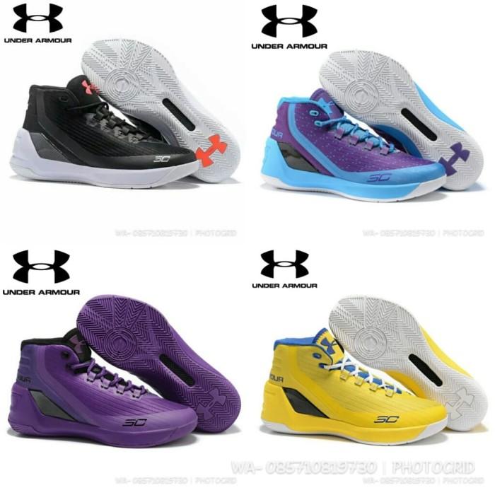 Jual sepatu basket under armour curry 3 low anti licin dan awet ... 0668215525