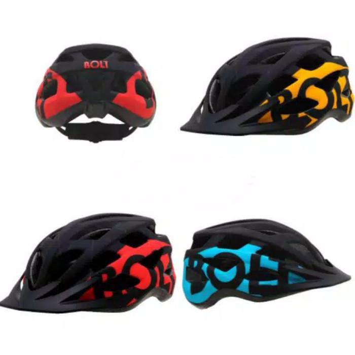 Jual Helm Sepeda MTB Roadbike merk Bolt by Polygon Kota