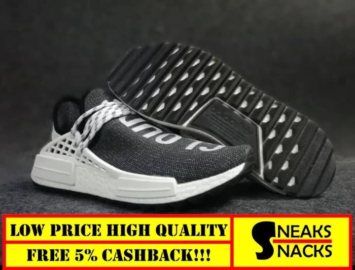 buy popular 8426b fac62 Jual ADIDAS NMD Human Race Pharrell x Cloud Mood High Premium Original -  Sneakers_Snacks | Tokopedia
