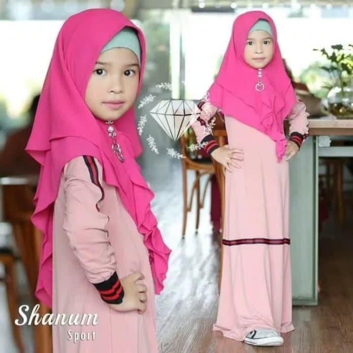 76 Contoh Baju Casual Muslim Anak Paling Hist