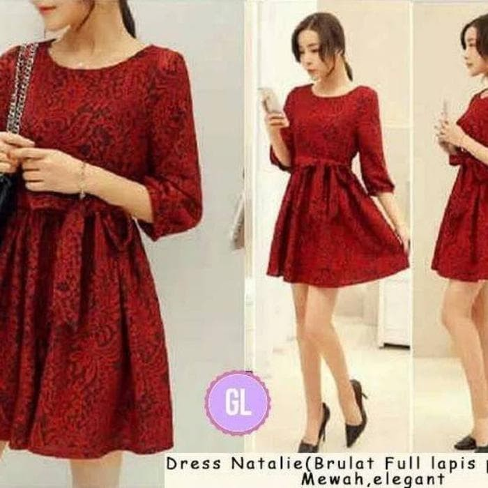 Jual Unik Dress Mercure Dress Natal Dress Pesta Dress Imlek Baju