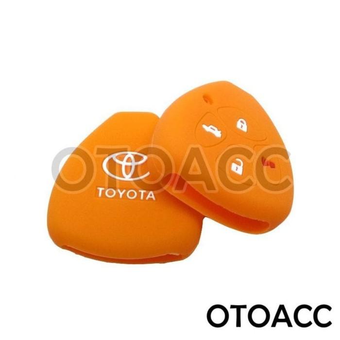 Kondom Keyshirt Kunci Silikon Sarung Remote Cover Toyota Camry 4