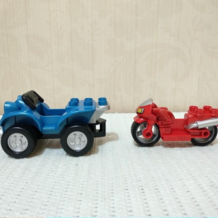 Jual Lego Duplo Truck Dan Motor Original Mainan Seken Batamsgpore