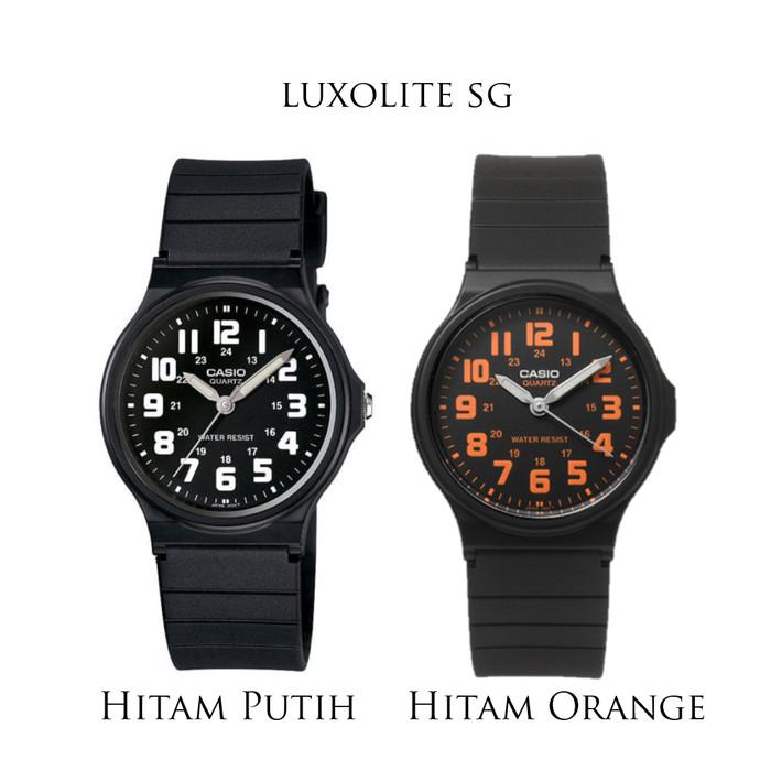 Jual Casio Jam Tangan Unisex MQ-71 - hitam oren - Luxolite SG - OS ... eea45c29c1