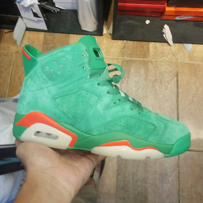 reputable site cdae3 29be2 Jual Sepatu Nike Air Jordan 6 Gatorade Green - DKI Jakarta - A&A Toserba  online | Tokopedia