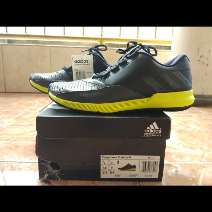 f7b84eec87e68 Jual Adidas Crazymove Bounce M Original BNIB - Hitam