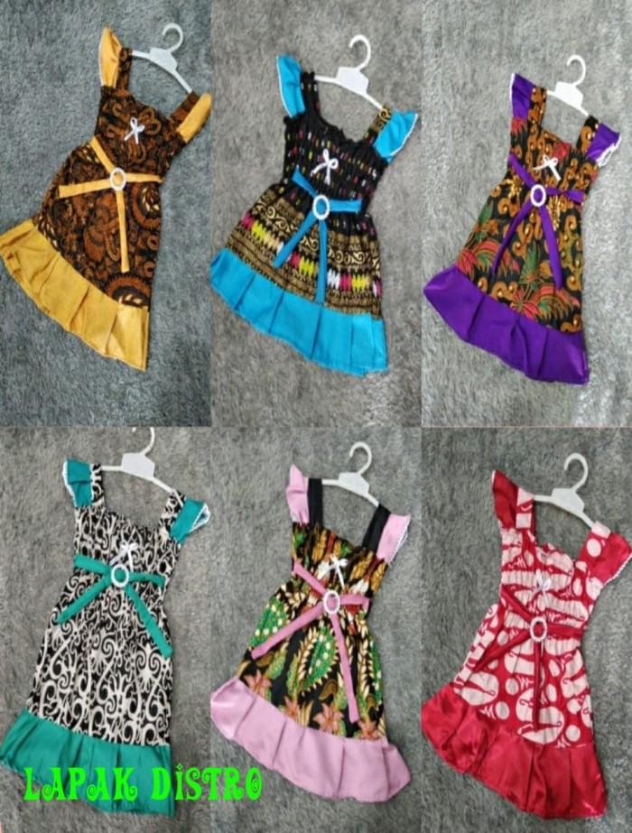 77 Desain Baju Batik Untuk Balita