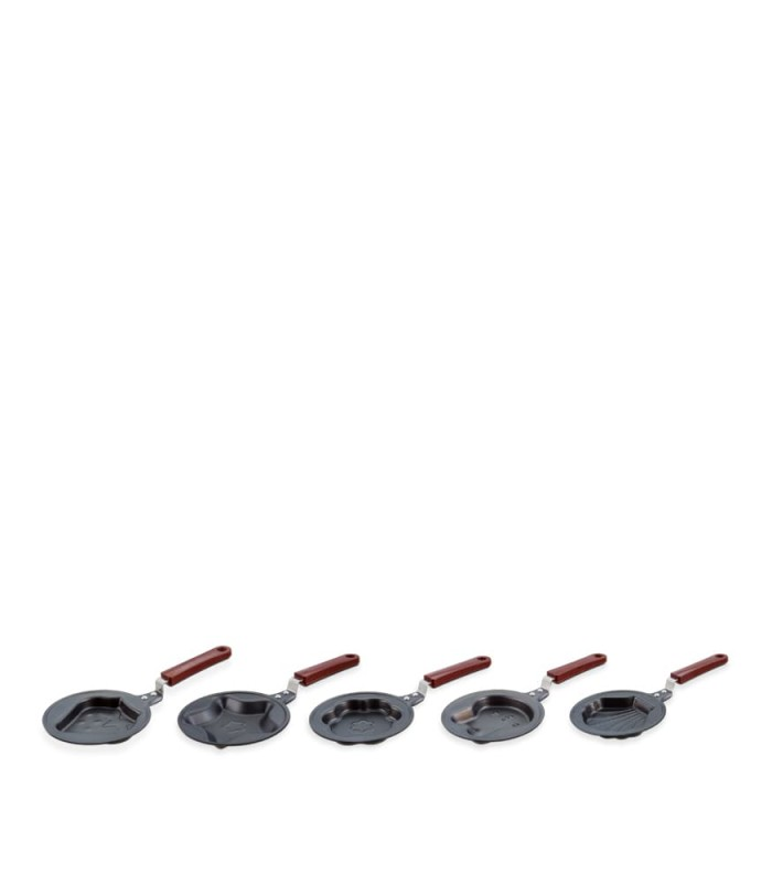 Mini fry pan character set-x5431