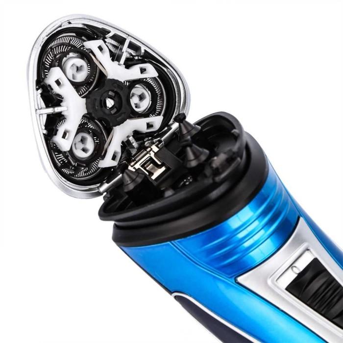 Jual A86085 Kemei Alat Cukur Elektrik 3D Shaver Trimmer Razor - KM ... 5c3ff667d7