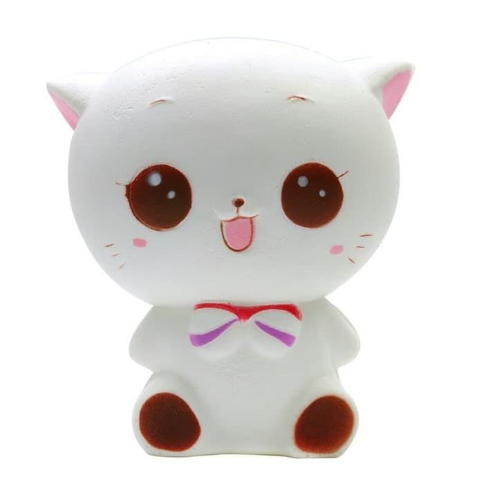Mainan anak Squishy kucing jumbo