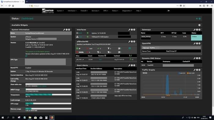 Jual Premium PFSENSE 1U Firewall Router UTM Gigabit intel i5 - Kota  Denpasar - hanahanishop123 | Tokopedia