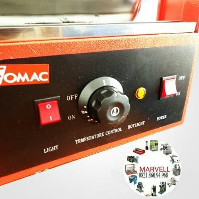 New Pajangan Makanan Display Warmer Fomac Shc dh 827