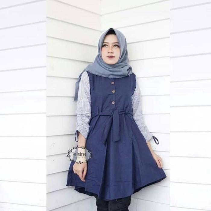Baju Fashion Muslim Tunik Blouse Atasan Cewek Busana Muslimah Original 505993fc0a