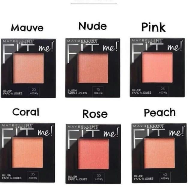 MAYBELLINE Fit Me Blush 4.5gr