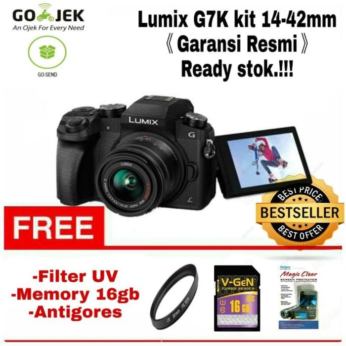 harga Panasonic lumix g7k kit 14-42mm garansi resmi Tokopedia.com