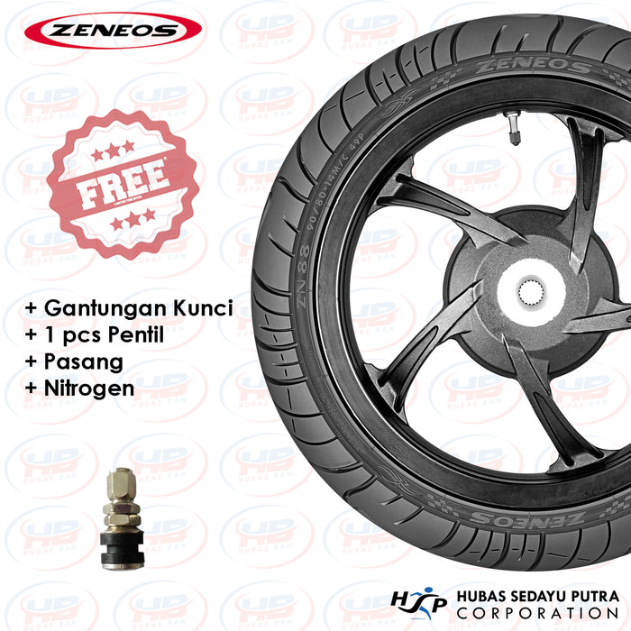 Free Source · Ban Motor ZENEOS ZN88 Ring 17 80 90 Tubeless .