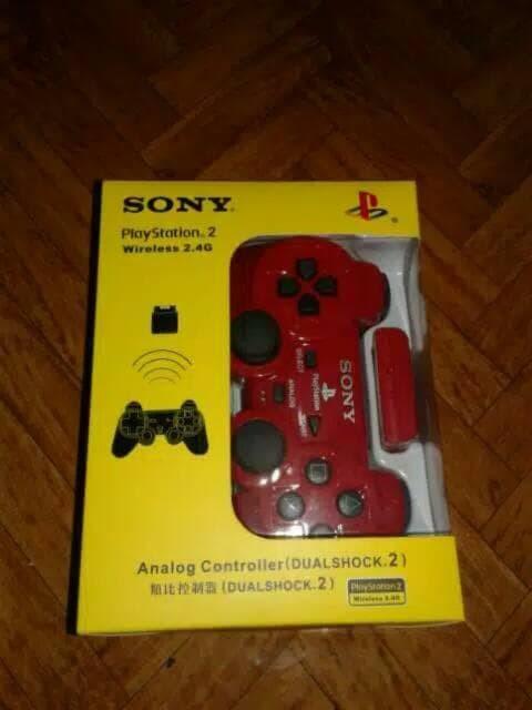 Stik Ps2 Wireless Stick Ps 2 Tanpa Kabel Contoller Playstation 2