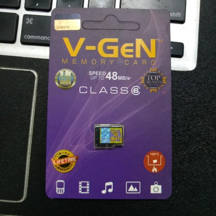 MICROSD MICRO SD VGEN CLASS 6 CL 6 16GB (NO ADAPTER) 16 GB