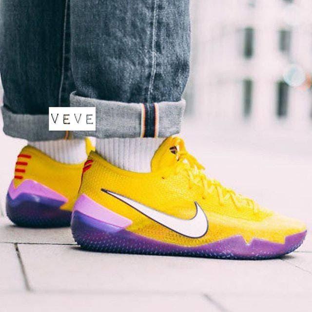 f36e516881f1 Jual Nike Kobe AD NXT 360 Yellow Strike Premium Original ...