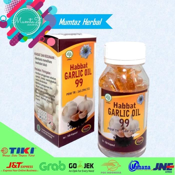 [PROMO] Habbat Garlic Oil 99 Kharisma 100 Kapsul Ekstrak Bawang Putih