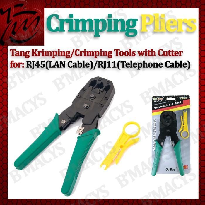 Crimping Tool RJ45 RJ11 / Tang Krimping Tools RJ 45 RJ11
