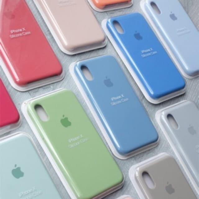 Jual jual ORIGINAL Apple Silicon - 14 warna hp iphone ...