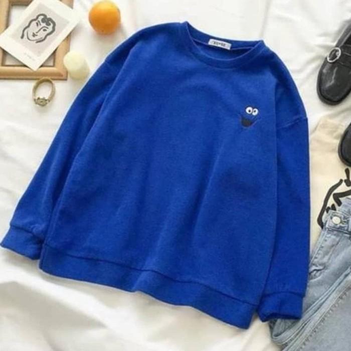 Jual Sweater Wanita Sesame Street Sweater Fleece - Kota Bandung - aygul   |  Tokopedia