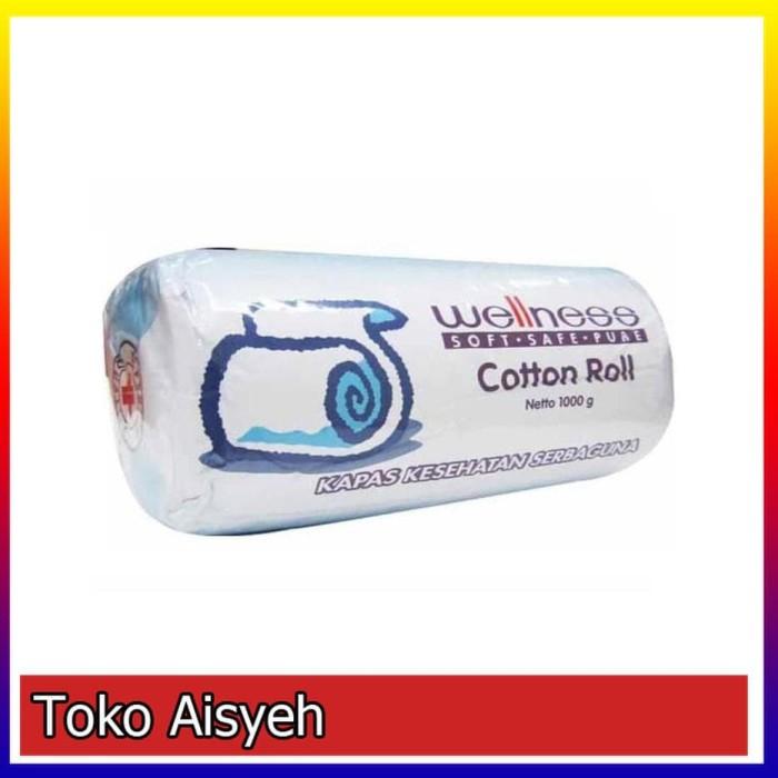 Wellness Cotton Roll / Kapas Roll / Kapas Gulung 1000gr / 1kg