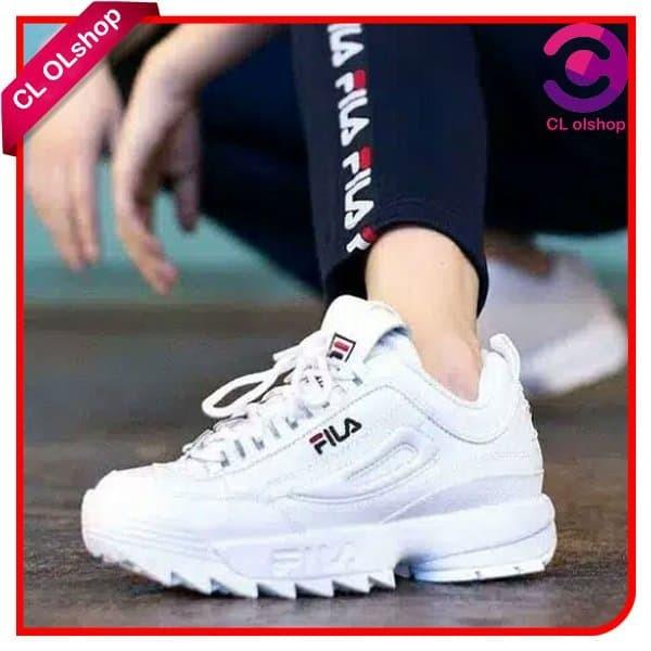 Jual Sepatu Wanita Terbaru Sepatu Sneakers Wanita Sepatu Olahraga Wanita Kota Bogor Cl Ols Tokopedia