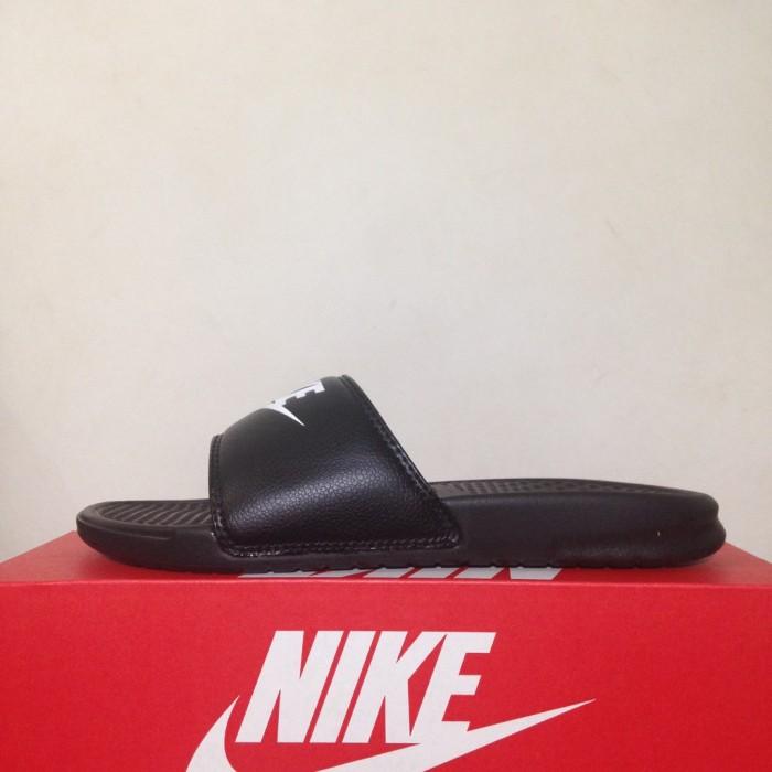 814af2ebcbaaf Jual Sandal Nike Benassi Jdi Black 343880090 Original BNIB - DKI ...