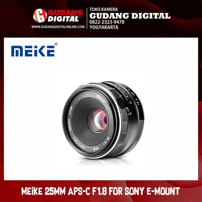 harga Meike 25mm aps-c f1.8 for mirrorless sony e-mount Tokopedia.com