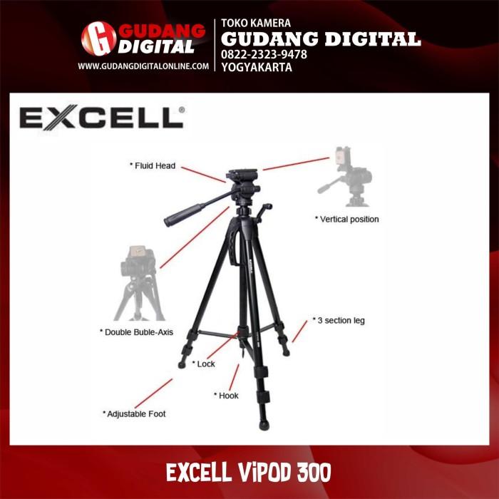 harga Tripod excell vipod 300 Tokopedia.com