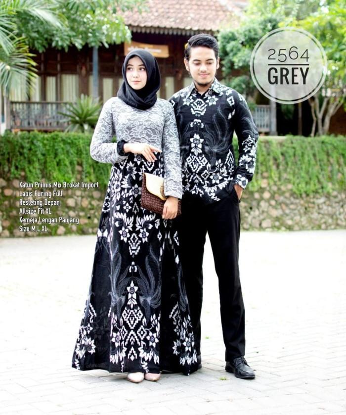 Jual Batik Couple Batik Sarimbit Gamis Brokat 2564 Kota Surakarta Anitaolshop Tokopedia