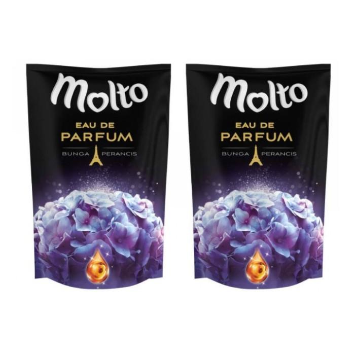 Jual Molto Pelembut Dan Pewangi Pakaian Eau De Parfum Elegant Purple Harga Rp 136.000