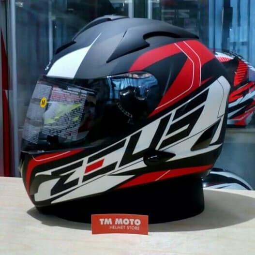 Jual Helm Zeus Fullface Hitam Pekalongan Timur Yakuza Helm Shop Tokopedia