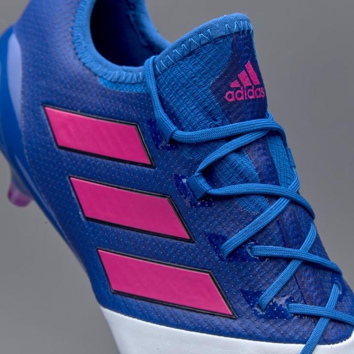 meet b1f63 f216c Jual Sepatu Bola adidas ACE 17.1 Leather FG - Blue/Shock Pink/White - Kab.  Cilacap - A.T.P SPORTS | Tokopedia