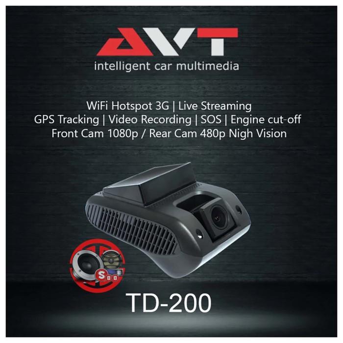 Jual AVT TD200 Mobile DVR Dual Camera Built In GPS Tracker Engine Cut-Off -  Kota Magelang - CV SALIM 88 | Tokopedia