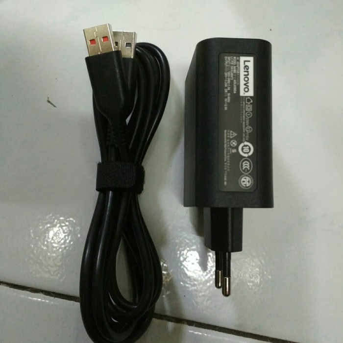 Jual adaptor charger Lenovo yoga 700-14isk - doktersparepart | Tokopedia