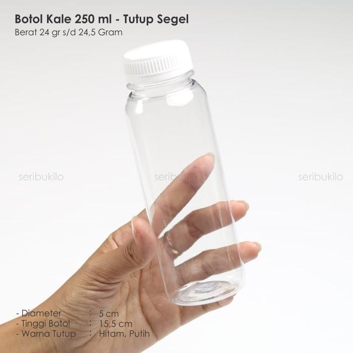 Foto Produk BOTOL PLASTIK 250 ML / BOTOL KALE 250 ML dari Seribu Online