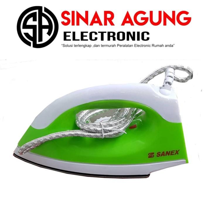 harga Sanex setrika s111 hijau-biru Tokopedia.com