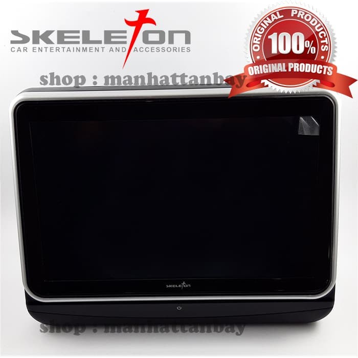 harga Clip on monitor headrest dvd player touchscreen 10  skeleton skt-752 Tokopedia.com